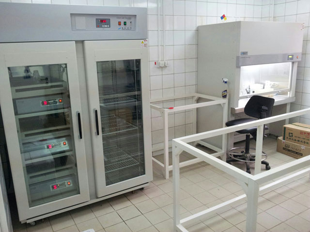 Export and operation of Microbial cultivation laboratory equipment